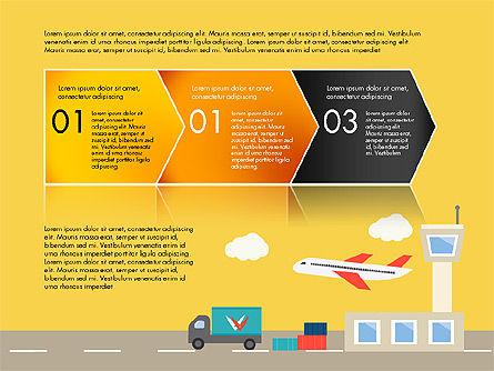 Transportation Presentation Template, Slide 7, 03171, Presentation Templates — PoweredTemplate.com
