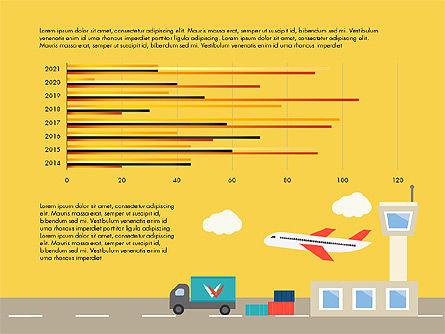 Transportation Presentation Template, Slide 8, 03171, Presentation Templates — PoweredTemplate.com