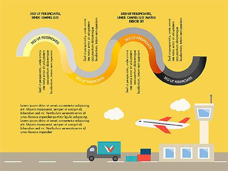 Transportation Presentation Template, Slide 9, 03171, Presentation Templates — PoweredTemplate.com