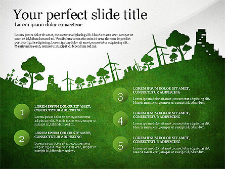 Save the World Together, Slide 3, 03173, Presentation Templates — PoweredTemplate.com
