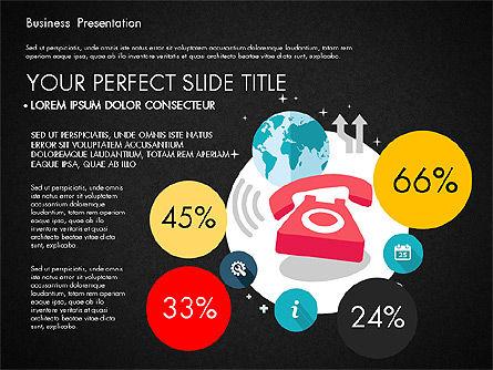 Illustrative Pitch Deck, Slide 10, 03174, Presentation Templates — PoweredTemplate.com