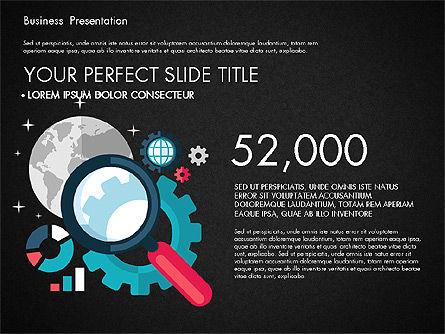 Illustrative Pitch Deck, Slide 11, 03174, Presentation Templates — PoweredTemplate.com
