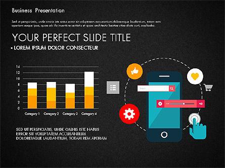 Illustrative Pitch Deck, Slide 13, 03174, Presentation Templates — PoweredTemplate.com