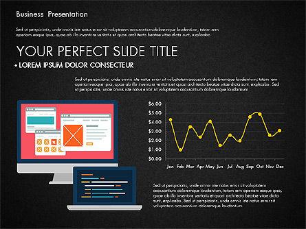 Illustrative Pitch Deck, Slide 15, 03174, Presentation Templates — PoweredTemplate.com