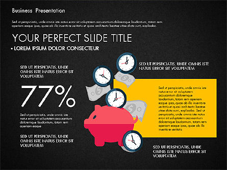 Illustrative Pitch Deck, Slide 16, 03174, Presentation Templates — PoweredTemplate.com