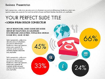 Illustrative Pitch Deck, Slide 2, 03174, Presentation Templates — PoweredTemplate.com