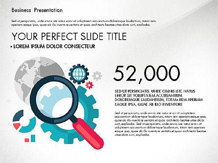 Illustrative Pitch Deck, Slide 3, 03174, Presentation Templates — PoweredTemplate.com