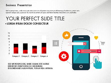 Illustrative Pitch Deck, Slide 5, 03174, Presentation Templates — PoweredTemplate.com
