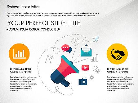 Illustrative Pitch Deck, Slide 6, 03174, Presentation Templates — PoweredTemplate.com