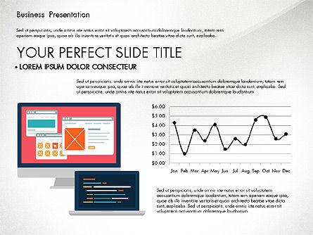 Illustrative Pitch Deck, Slide 7, 03174, Presentation Templates — PoweredTemplate.com