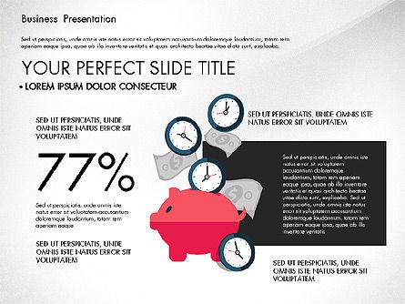 Illustrative Pitch Deck, Slide 8, 03174, Presentation Templates — PoweredTemplate.com