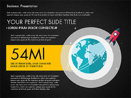 Illustrative Pitch Deck, Slide 9, 03174, Presentation Templates — PoweredTemplate.com