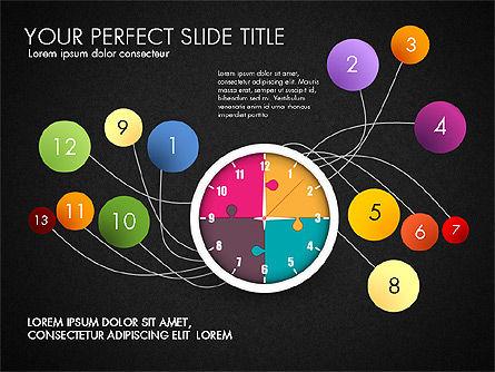 Time Management Charts, Slide 10, 03175, Stage Diagrams — PoweredTemplate.com