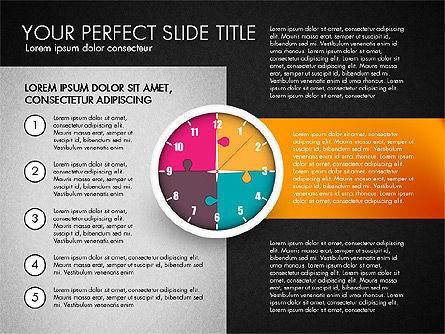 Time Management Charts, Slide 11, 03175, Stage Diagrams — PoweredTemplate.com