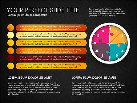 Time Management Charts, Slide 12, 03175, Stage Diagrams — PoweredTemplate.com