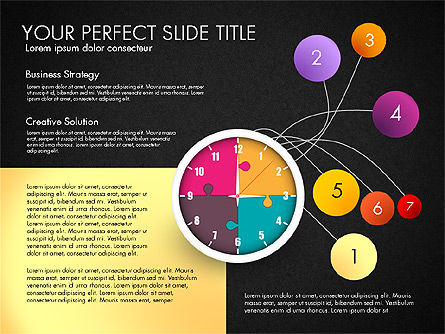 Time Management Charts, Slide 13, 03175, Stage Diagrams — PoweredTemplate.com