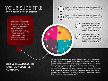 Time Management Charts, Slide 14, 03175, Stage Diagrams — PoweredTemplate.com