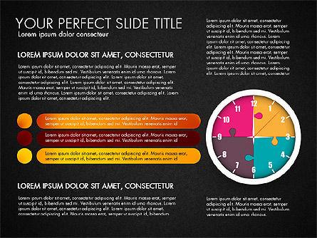 Time Management Charts, Slide 15, 03175, Stage Diagrams — PoweredTemplate.com