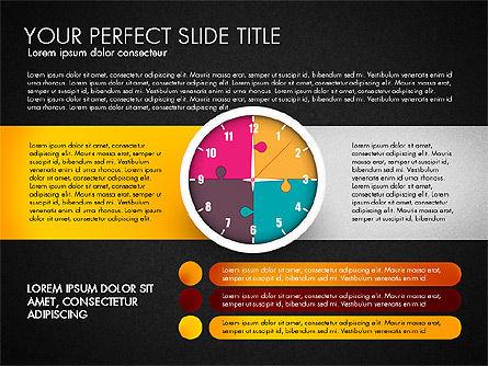 Time Management Charts, Slide 16, 03175, Stage Diagrams — PoweredTemplate.com