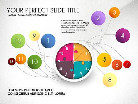 Time Management Charts, Slide 2, 03175, Stage Diagrams — PoweredTemplate.com