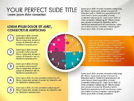 Time Management Charts, Slide 3, 03175, Stage Diagrams — PoweredTemplate.com