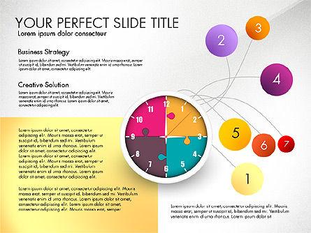 Time Management Charts, Slide 5, 03175, Stage Diagrams — PoweredTemplate.com