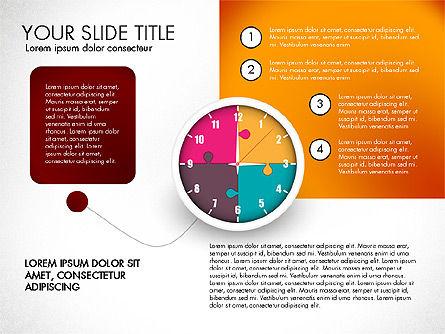Time Management Charts, Slide 6, 03175, Stage Diagrams — PoweredTemplate.com