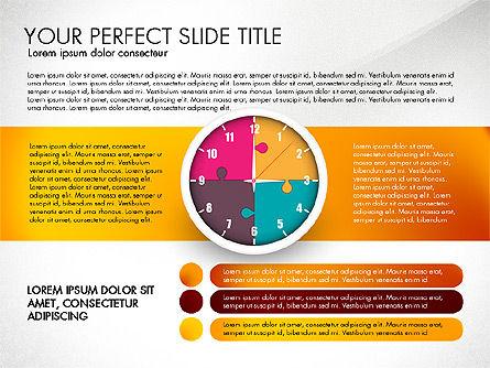 Time Management Charts, Slide 8, 03175, Stage Diagrams — PoweredTemplate.com