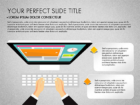 SMM Presentation Concept, 03176, Presentation Templates — PoweredTemplate.com
