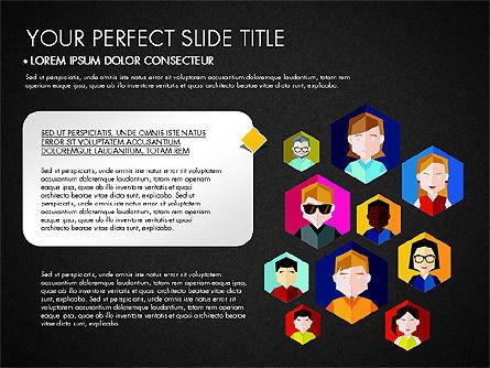 SMM Presentation Concept, Slide 10, 03176, Presentation Templates — PoweredTemplate.com