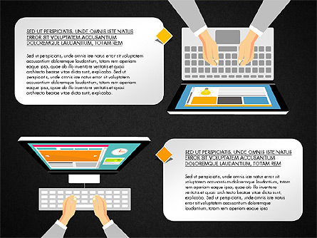 SMM Presentation Concept, Slide 11, 03176, Presentation Templates — PoweredTemplate.com