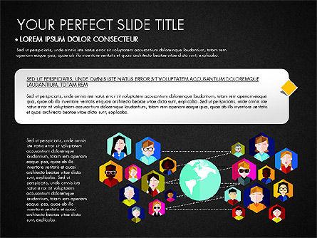 SMM Presentation Concept, Slide 12, 03176, Presentation Templates — PoweredTemplate.com