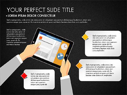 SMM Presentation Concept, Slide 13, 03176, Presentation Templates — PoweredTemplate.com
