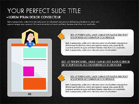 SMM Presentation Concept, Slide 14, 03176, Presentation Templates — PoweredTemplate.com
