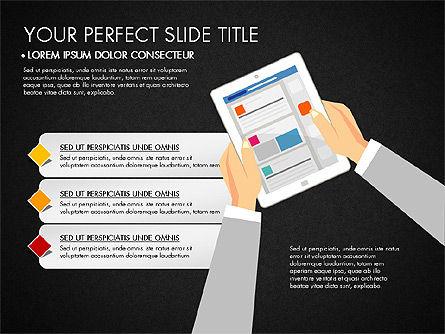 SMM Presentation Concept, Slide 15, 03176, Presentation Templates — PoweredTemplate.com