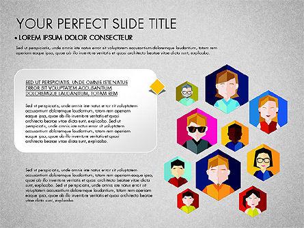 SMM Presentation Concept, Slide 2, 03176, Presentation Templates — PoweredTemplate.com