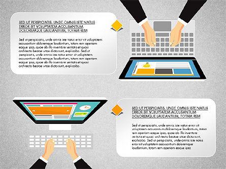 SMM Presentation Concept, Slide 3, 03176, Presentation Templates — PoweredTemplate.com