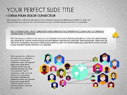 SMM Presentation Concept, Slide 4, 03176, Presentation Templates — PoweredTemplate.com