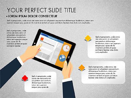 SMM Presentation Concept, Slide 5, 03176, Presentation Templates — PoweredTemplate.com