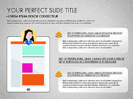 SMM Presentation Concept, Slide 6, 03176, Presentation Templates — PoweredTemplate.com