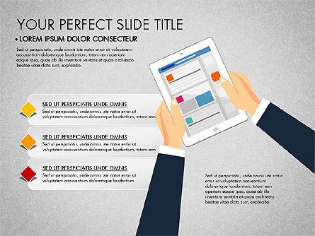 SMM Presentation Concept, Slide 7, 03176, Presentation Templates — PoweredTemplate.com