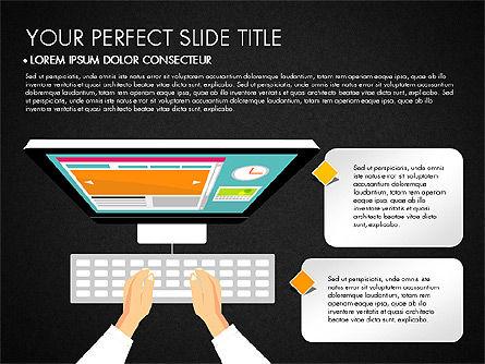 SMM Presentation Concept, Slide 9, 03176, Presentation Templates — PoweredTemplate.com