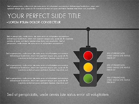 Road Junctions Toolbox, Slide 13, 03178, Process Diagrams — PoweredTemplate.com