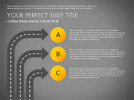 Road Junctions Toolbox, Slide 15, 03178, Process Diagrams — PoweredTemplate.com