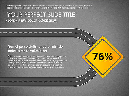Road Junctions Toolbox, Slide 16, 03178, Process Diagrams — PoweredTemplate.com