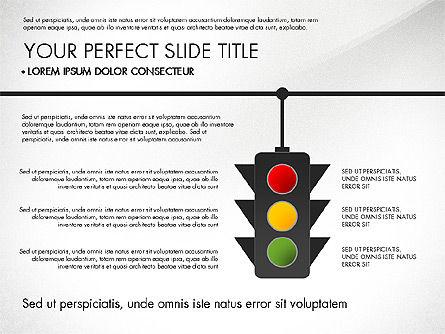 Road Junctions Toolbox, Slide 5, 03178, Process Diagrams — PoweredTemplate.com