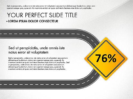 Road Junctions Toolbox, Slide 8, 03178, Process Diagrams — PoweredTemplate.com
