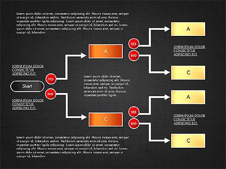 Block Diagram, Slide 15, 03179, Flow Charts — PoweredTemplate.com