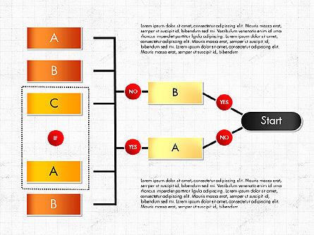Block Diagram, Slide 5, 03179, Flow Charts — PoweredTemplate.com
