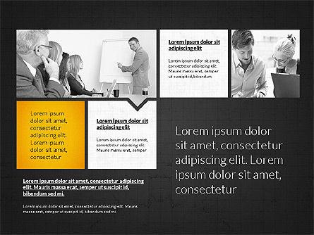 Business Presentation Slides, Slide 10, 03180, Presentation Templates — PoweredTemplate.com